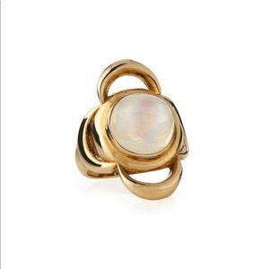 Pamela Love Gold Lunar Cross Ring